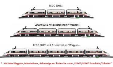 Lego City 60051 Hochgeschwindigkeitszug Valuebrick At