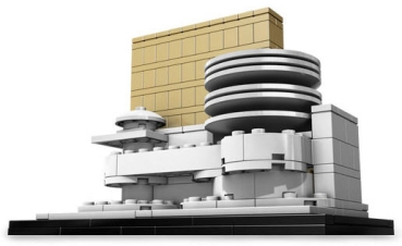 lego architecture 21004 solomon r guggenheim museum. Black Bedroom Furniture Sets. Home Design Ideas