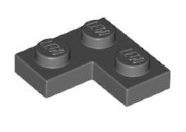 lego platten 2420 eckplatte 2x2 dunkelgrau. Black Bedroom Furniture Sets. Home Design Ideas
