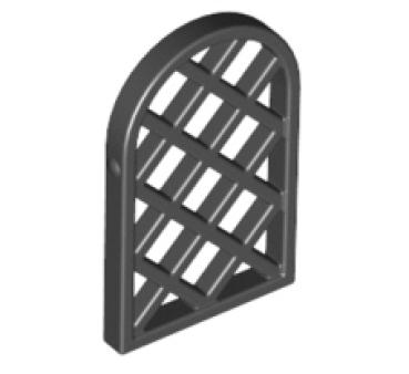 lego t ren und fenster 30046 gittereinsatz f r rahmen 1x2x2 2 3. Black Bedroom Furniture Sets. Home Design Ideas