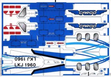 lego technic stickerbogen 42025stk01 02 frachtflugzeug. Black Bedroom Furniture Sets. Home Design Ideas
