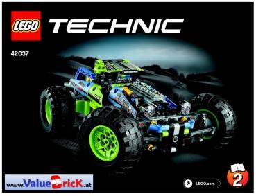 Lego Technic Bauanleitung 42037 Formula Off Roader Valuebrickat