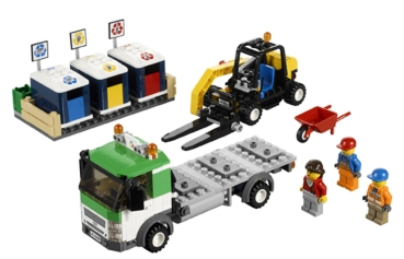 Lego city 4206 recycling truck - Camion lego city police ...