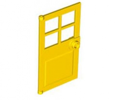 lego t ren und fenster 60623 t rblatt f r rahmen 1x4x6 gelb. Black Bedroom Furniture Sets. Home Design Ideas