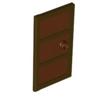 lego t ren und fenster 60797c03 t rblatt f r rahmen 1x4x6 dunkebraun mit rotbrauner f llung. Black Bedroom Furniture Sets. Home Design Ideas