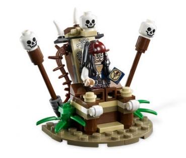 Lego Pirates Of The Caribbean 4182 Flucht Vor Den Kannibalen