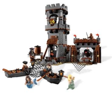 Lego Pirates Of The Caribbean 4194 Whitecap Bay Valuebrickat
