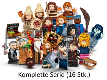 LEGO Harry Potter Serie 2 Minifiguren 71028 Satz von 16 Minifiguren