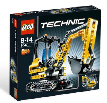 lego technic 8047 kompaktbagger box besch digt neu ovp. Black Bedroom Furniture Sets. Home Design Ideas
