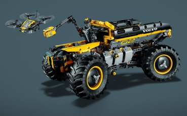lego technic 42081 volvo konzept radlader zeux. Black Bedroom Furniture Sets. Home Design Ideas