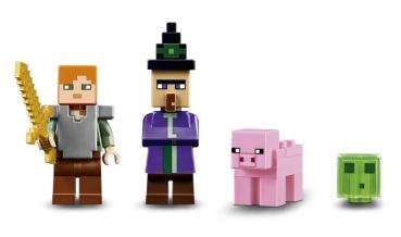 LEGO Minecraft Das Hexenhaus Nr Auswahl ValueBrickat - Minecraft hexenhauser