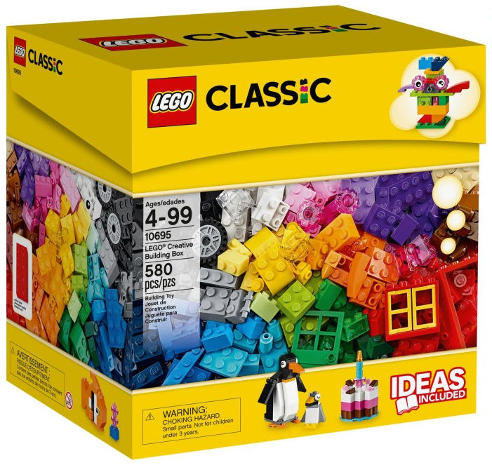 lego classic 10695 bausteine box. Black Bedroom Furniture Sets. Home Design Ideas