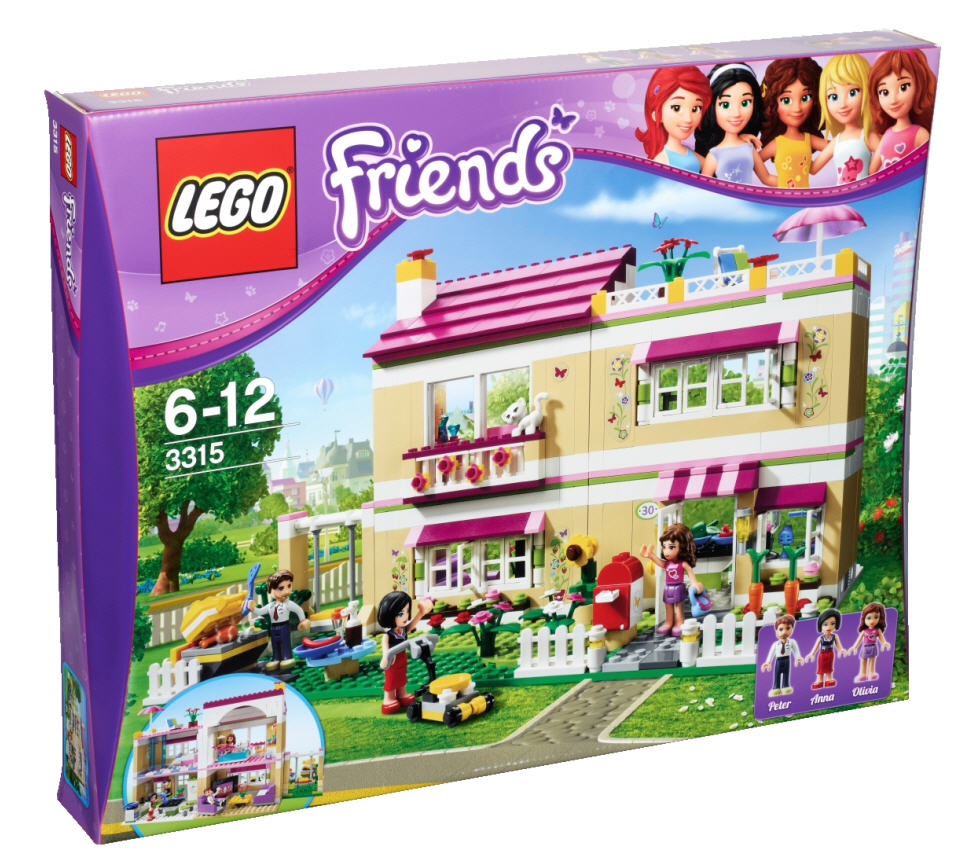 lego friends 3315 traumhaus. Black Bedroom Furniture Sets. Home Design Ideas