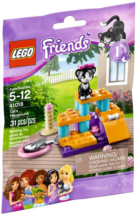 lego friends 41018 katzenspielplatz. Black Bedroom Furniture Sets. Home Design Ideas