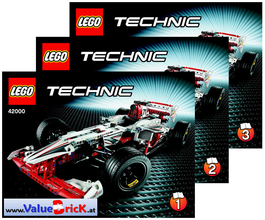 lego technic bauanleitung 42000 grand prix racer. Black Bedroom Furniture Sets. Home Design Ideas