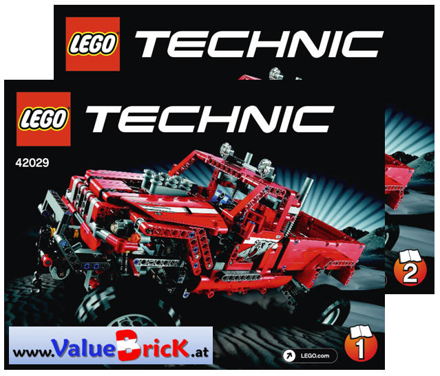 lego technic bauanleitung 42029 pick up. Black Bedroom Furniture Sets. Home Design Ideas