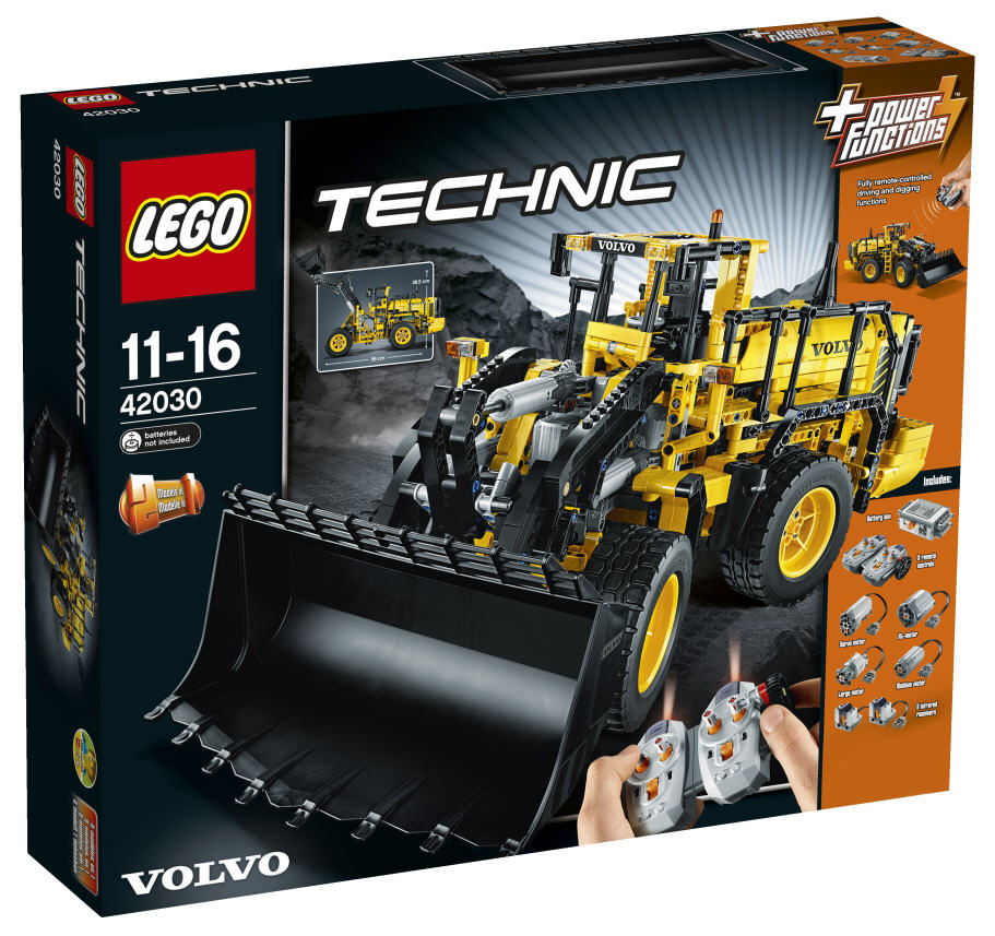 lego technic 42030 volvo l350f radlader. Black Bedroom Furniture Sets. Home Design Ideas
