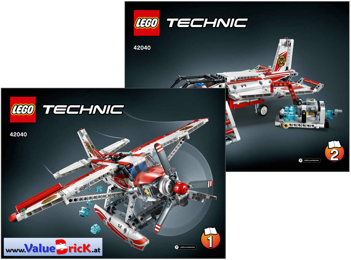 lego technic bauanleitung 42040 l schflugzeug. Black Bedroom Furniture Sets. Home Design Ideas