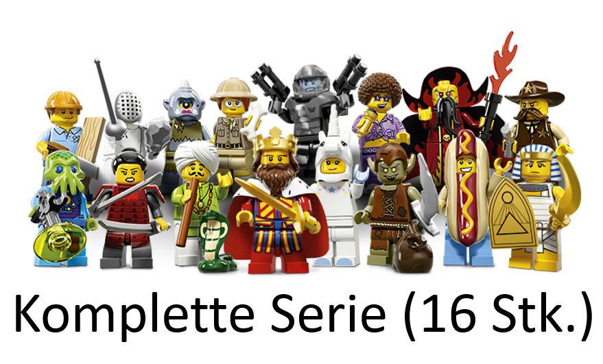 LEGO® 71008  Serie 13 FIGUR Nr.10 Böser Hexenmeister
