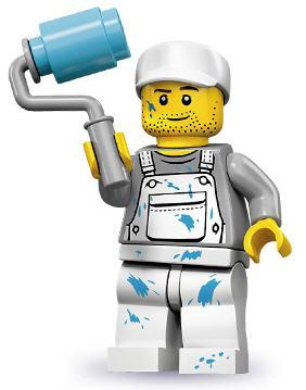 Minifigur von LEGO / Minifiguren 71001 Fallschirmspringer aus der Serie 10
