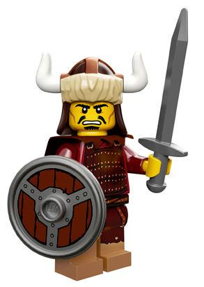 Lego® Castle Minifigur Forestman mit Schild und Waffe