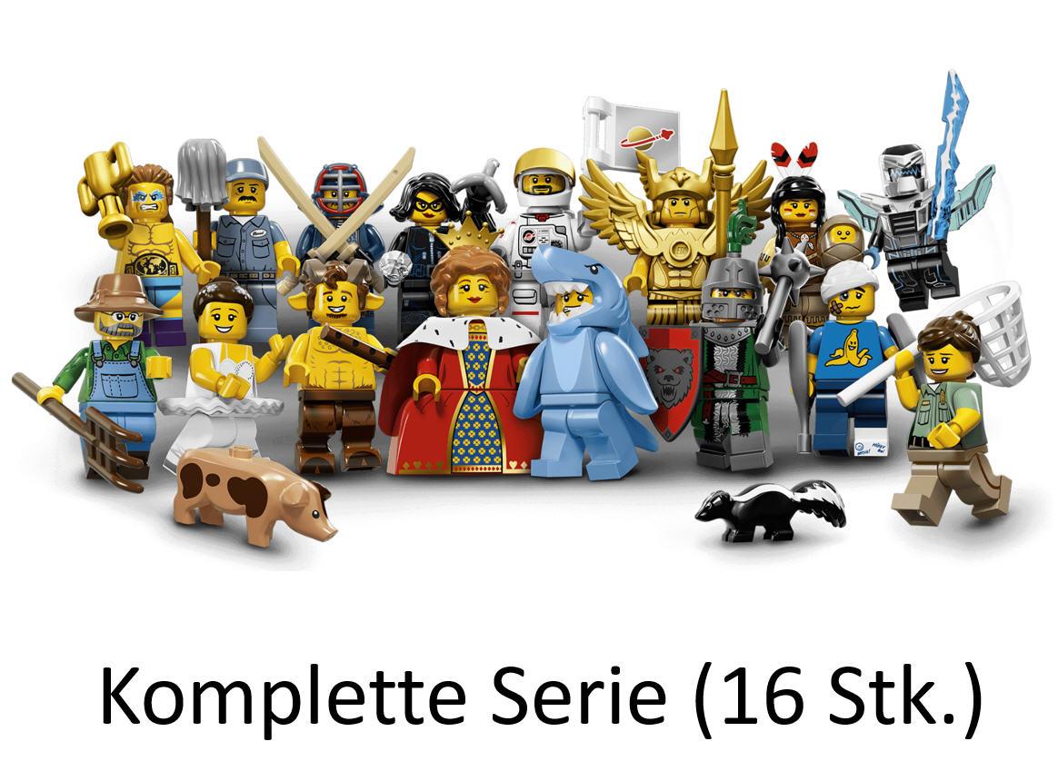 lego minifiguren serie 15 71011 alle 16 figuren. Black Bedroom Furniture Sets. Home Design Ideas