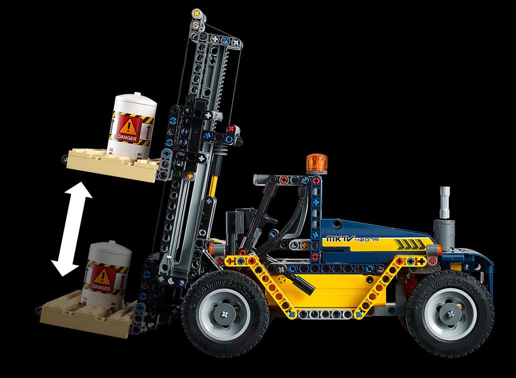LEGO® Technic Set 42079 Schwerlast-Gabelstapler