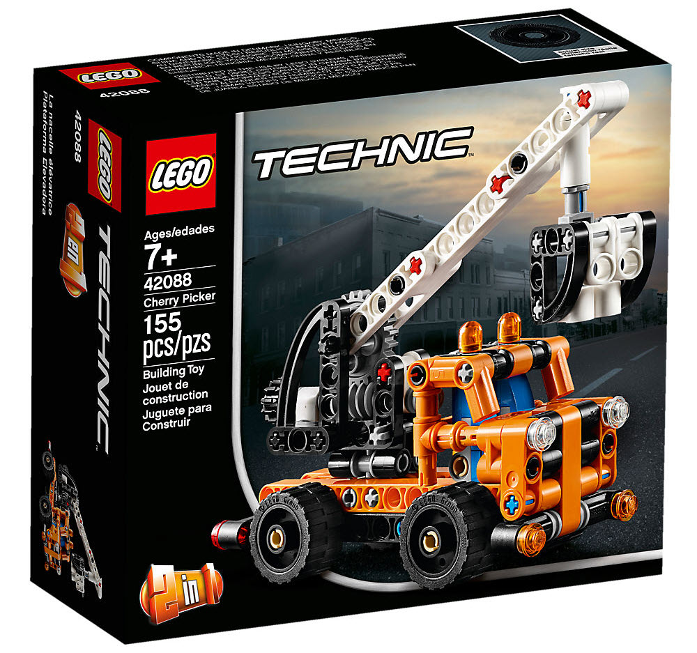 Lego Technic 42088 Hubarbeitsbühne Günstig Kaufen Valuebrickat