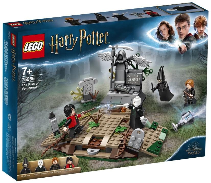Lego Harry Potter 75965 Der Aufstieg Von Voldemort Gunstig Kaufen Valuebrick At