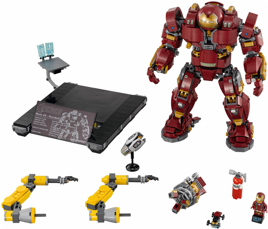 Brand New Ultron Edition 2018 76105 LEGO Marvel Super Heroes The Hulkbuster