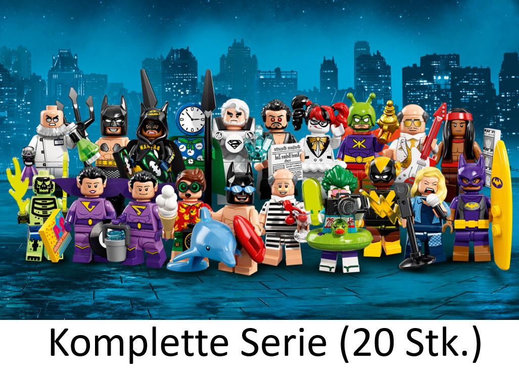 Ferien Alfred Pennyworth LEGO 71020 THE LEGO BATMAN MOVIE Serie 2 Minifigur