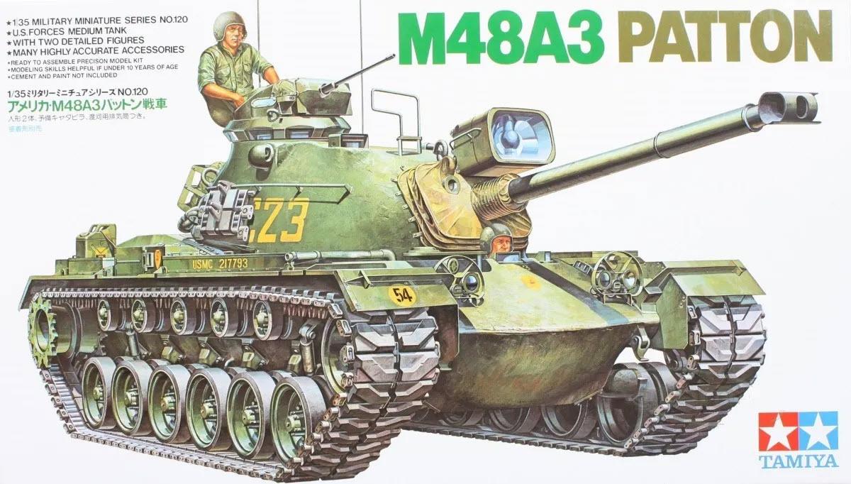 Tamiya 100 U.S. M100A100 Patton, 101005