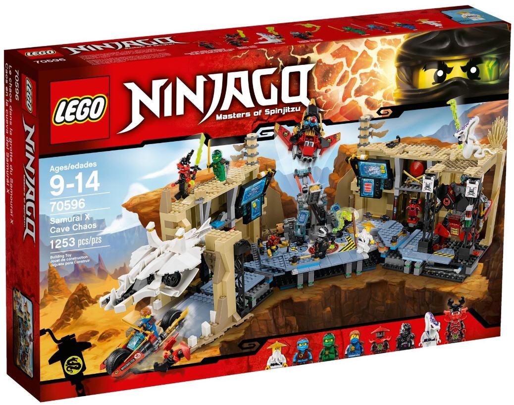 Lego Ninjago 70596 Samurai X Hhlenchaos Kaufen Sticker Verpackung